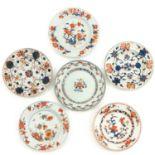 A Collection of 6 Imari Plates