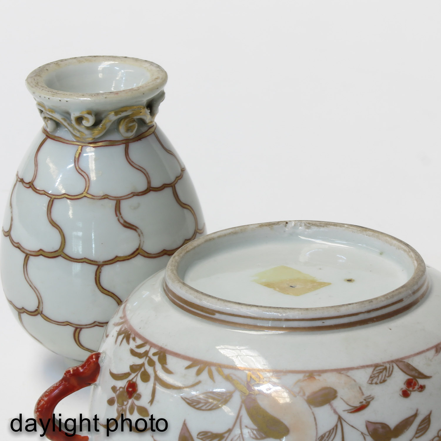 A Tea Box and Covered Dish - Image 8 of 9