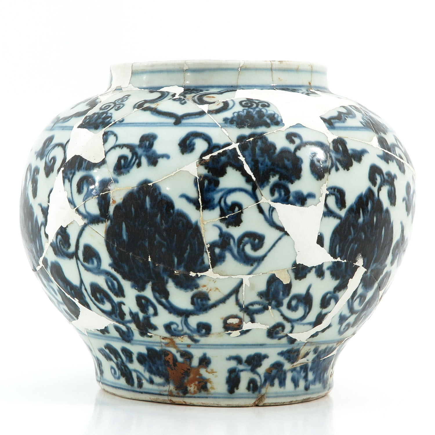 A Blue and White Vase - Image 3 of 10