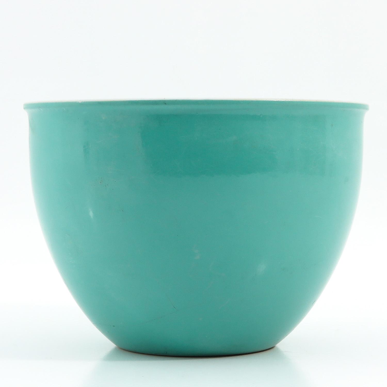 A Celadon Cache Pot - Image 3 of 9