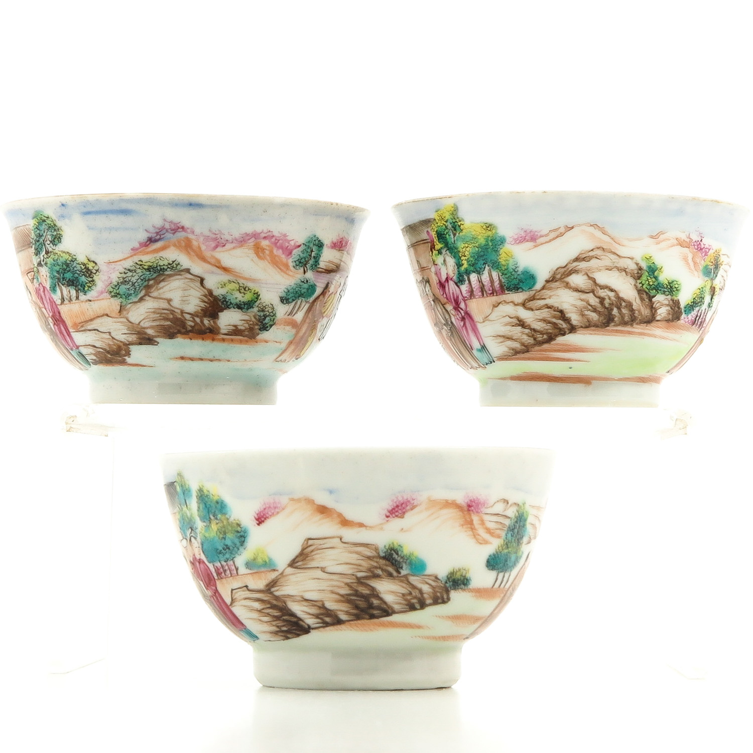 A Series of 3 Cups and Saucers - Image 2 of 10
