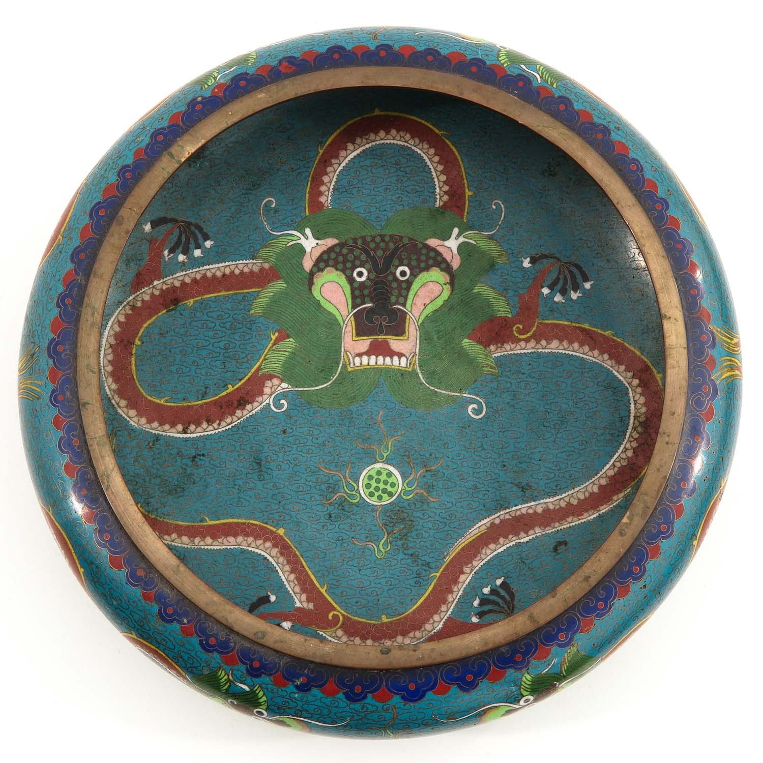 A Cloisonne Censer - Image 5 of 10