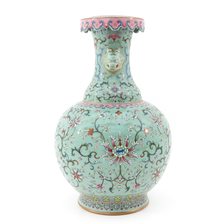 A Famille Rose Vase - Image 4 of 10