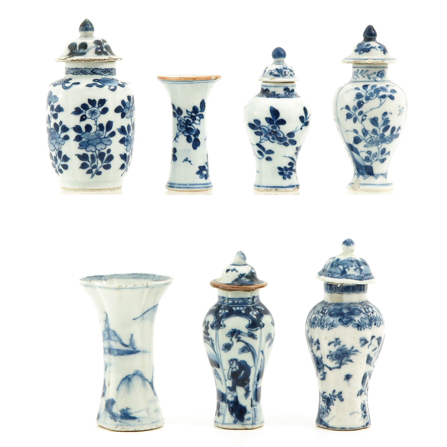 A Collection of 7 Miniature Vases - Image 3 of 9