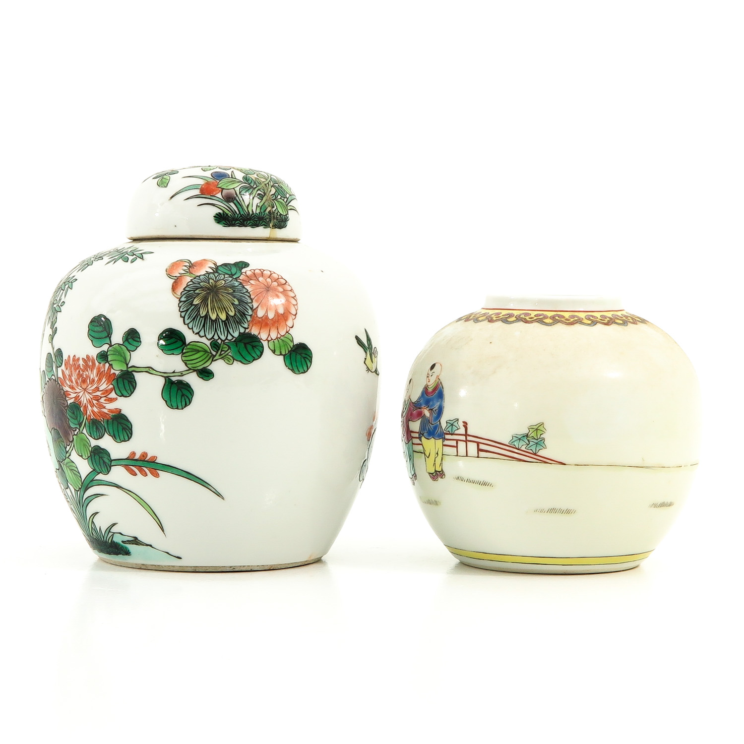 A Lot of 2 Ginger Jars - Image 2 of 9