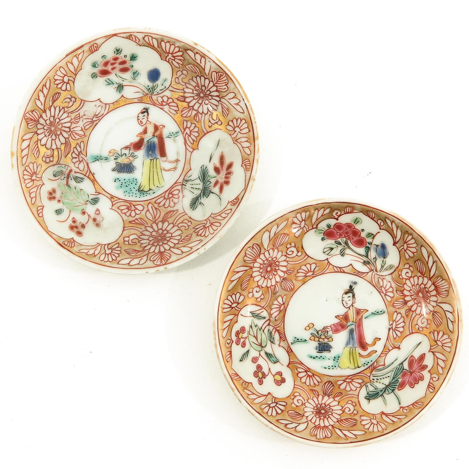 A Set of 2 Cups and Saucers - Image 7 of 10