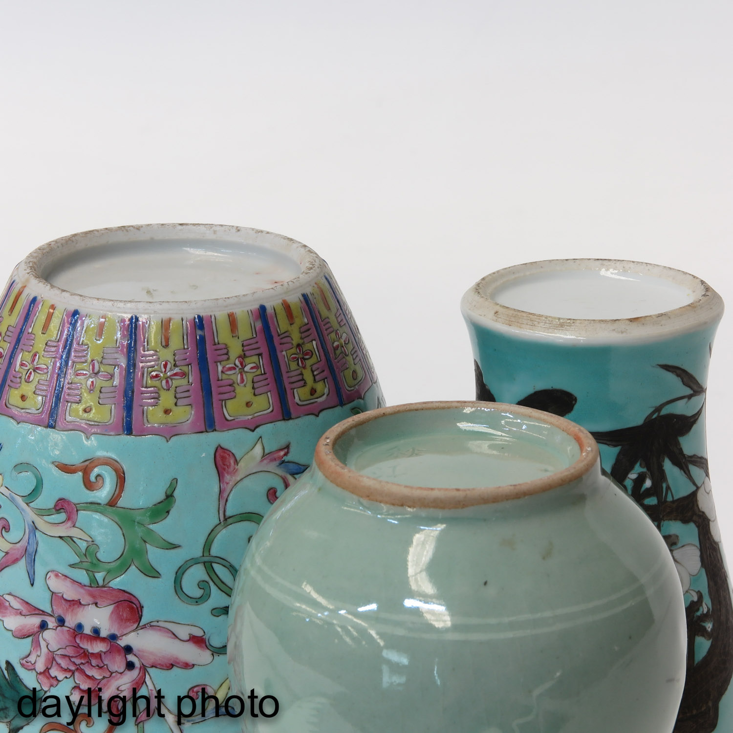 A Collection of 3 Vases - Image 8 of 9