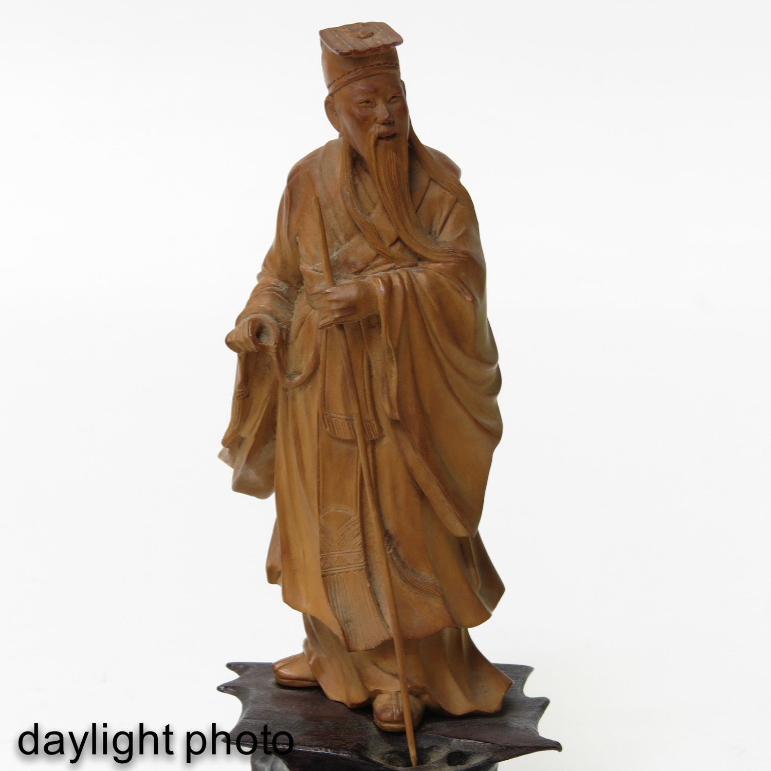 A Lot of7 Carved Sculptures - Image 10 of 10
