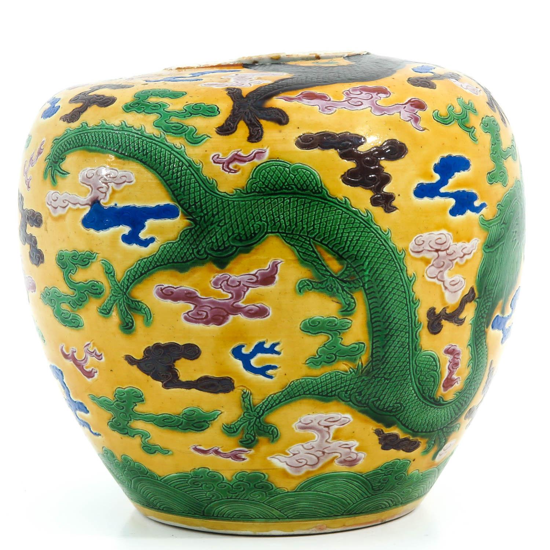 A Polychrome Decor Ginger Jar - Image 4 of 9