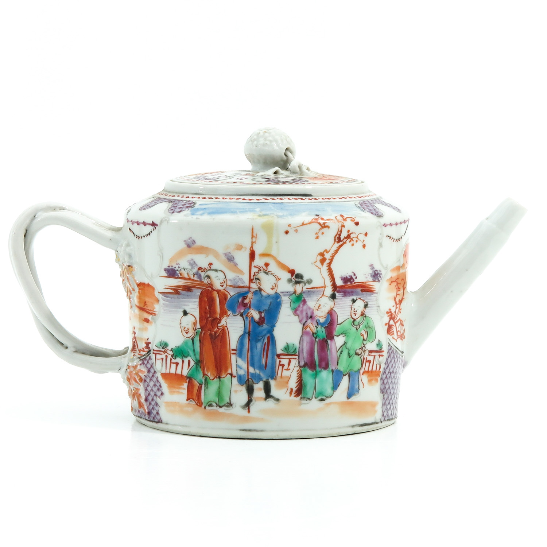 A Mandarin Decor Teapot - Image 3 of 9