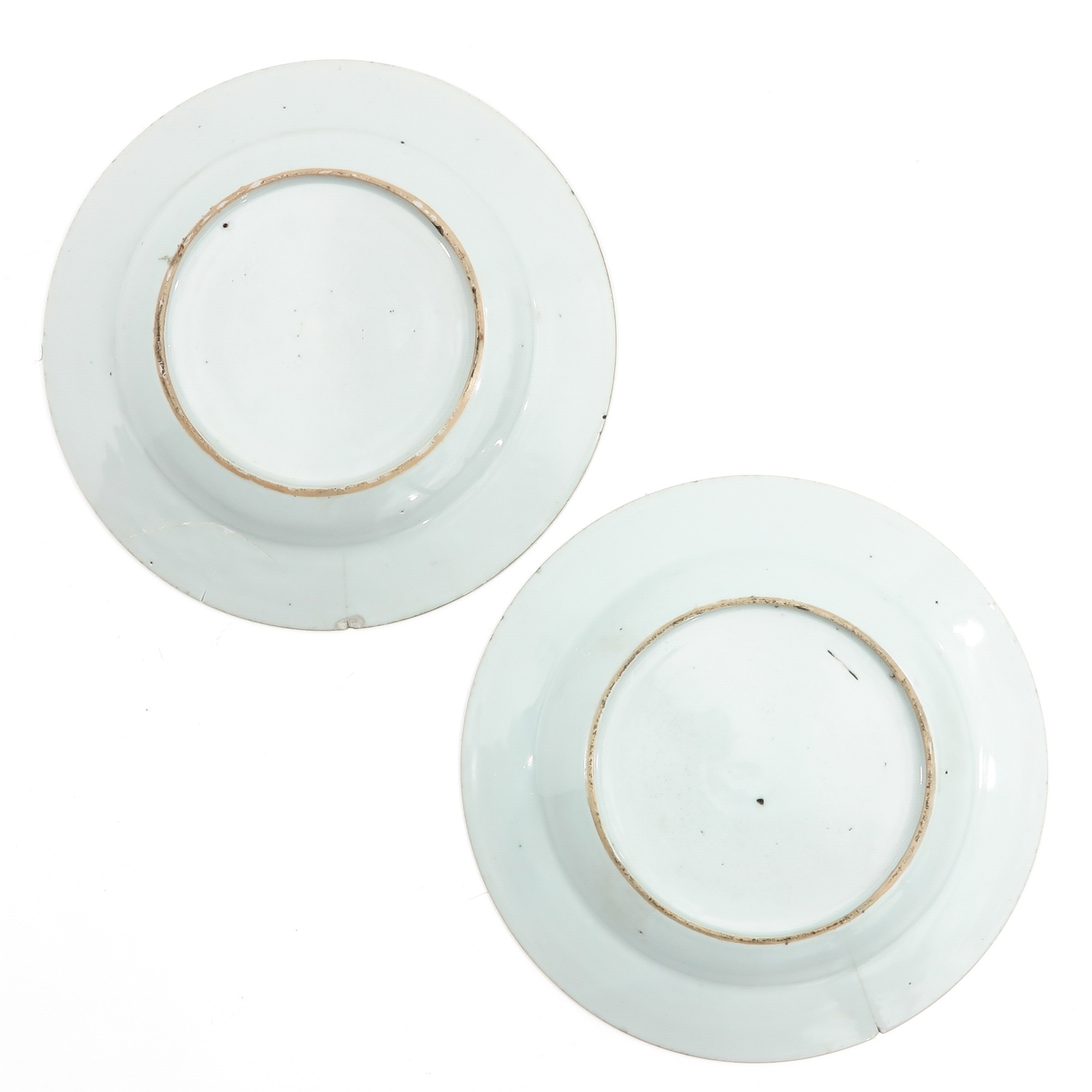 A Pair of Famille Rose Plates - Image 2 of 9