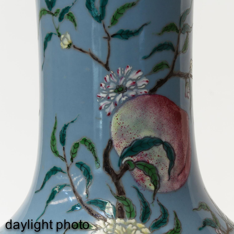 A Peach Decor Bottle Vase - Image 10 of 10