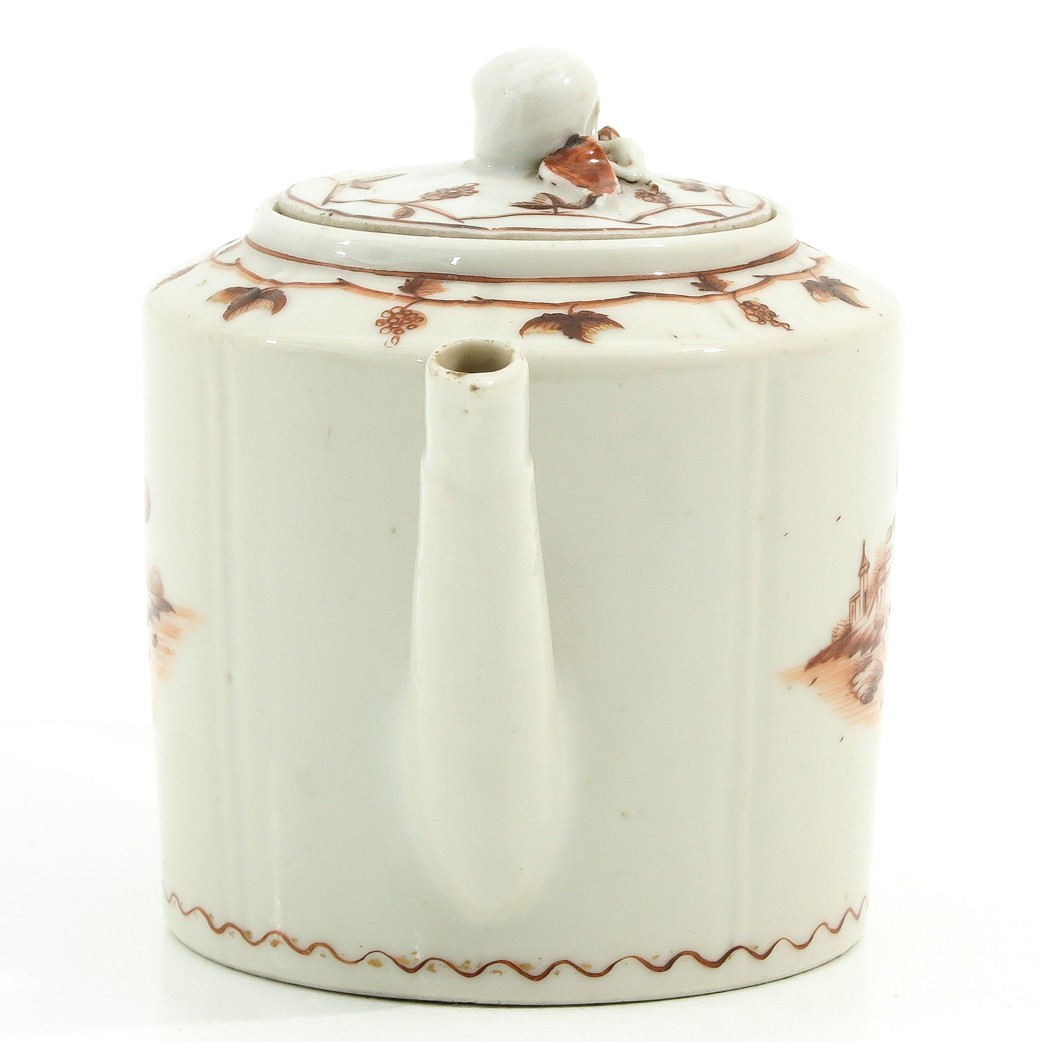 A Teapot and Small Dish - Image 4 of 9