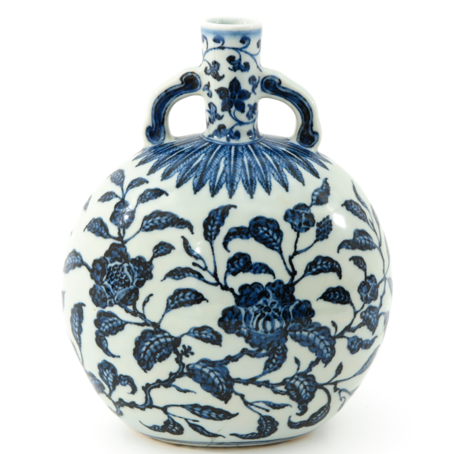 A Blue and White Moon Bottle