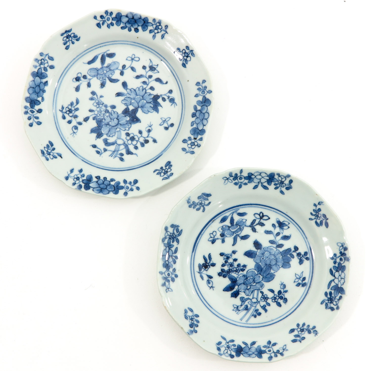 A Collection of 6 Blue and White Plates - Image 3 of 10