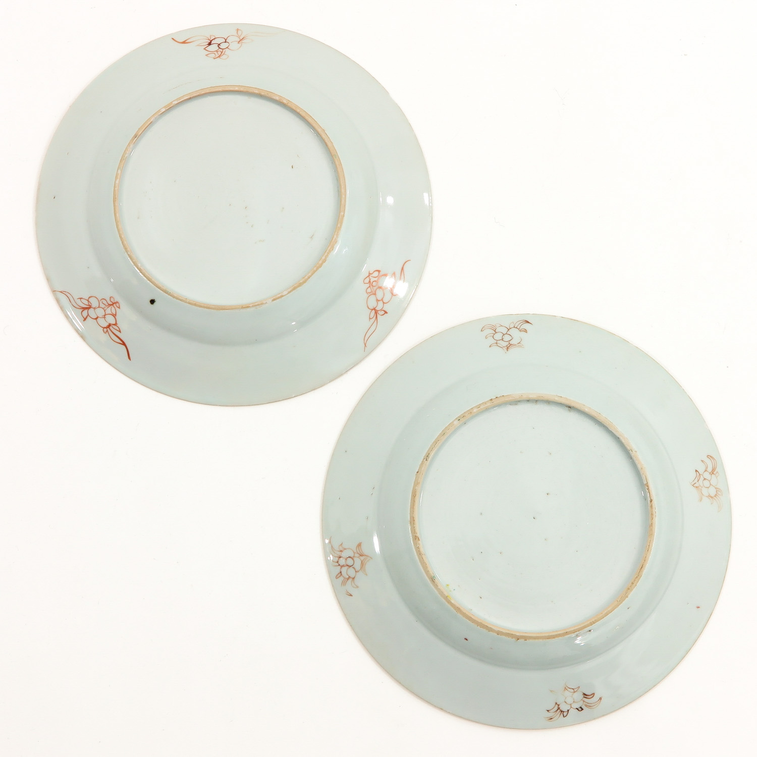 A Series of 4 Famille Rose Plates - Image 6 of 9