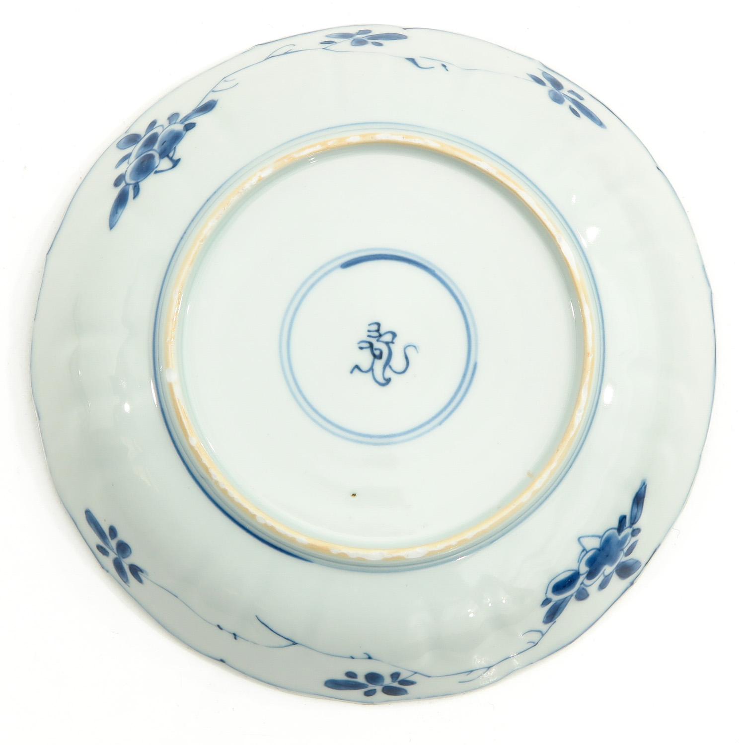 2 Blue and White Plates - Image 6 of 10
