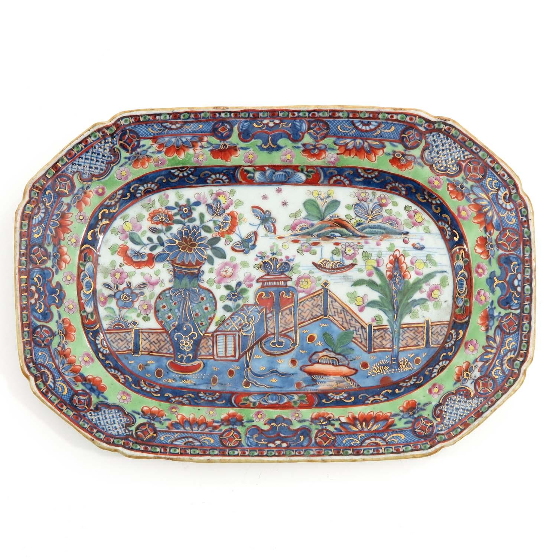 A Polychrome Dish
