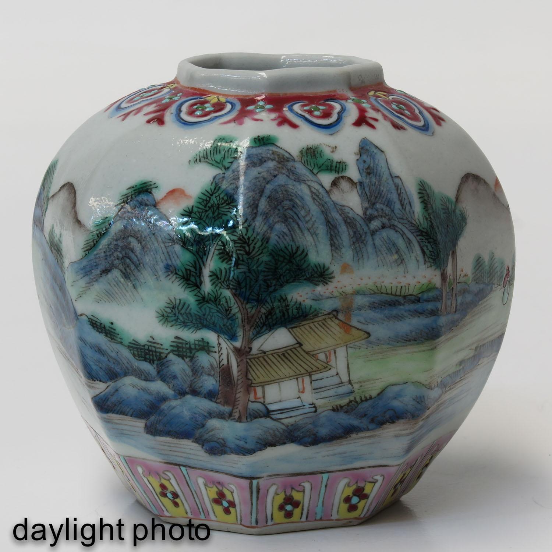A Polychrome Vase - Image 7 of 9