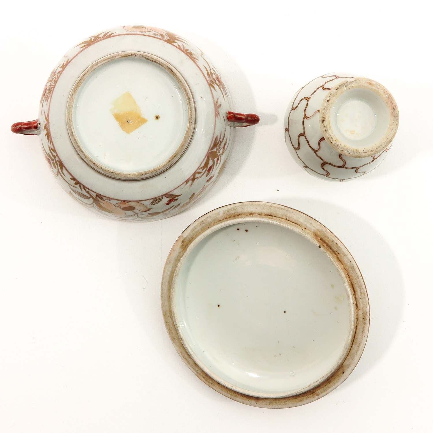 A Tea Box and Covered Dish - Image 6 of 9