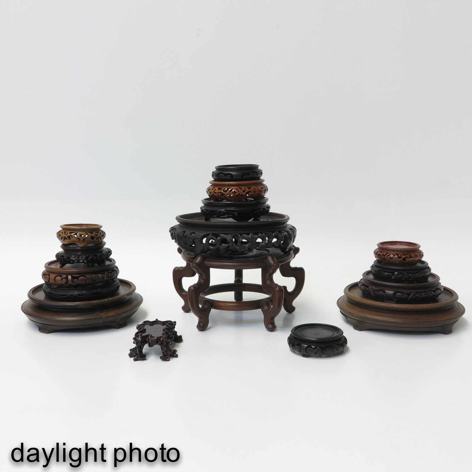 A Collection of Wood Bases - Image 5 of 8