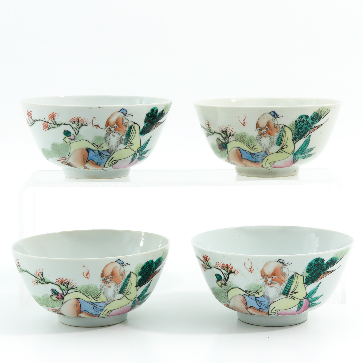 A Series of Polychrome Bowls