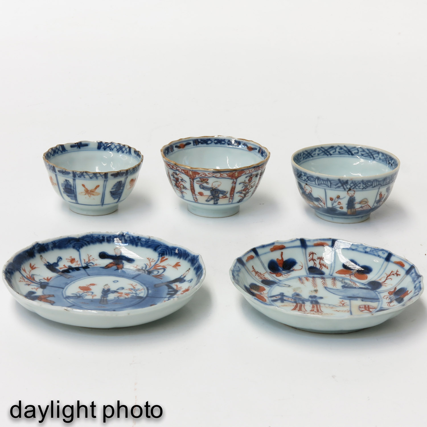 A Lot of 5 Cups and Saucers - Image 9 of 10