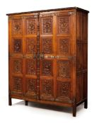 A renaissance style cupboard