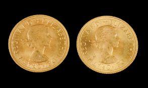 Ten sovereigns