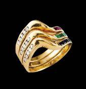 A triple ring