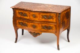 A French taste D.José style chest of drawers