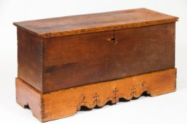A chest with stand