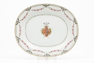 An heraldic tray