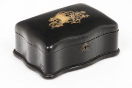 A Napoleon III jewellery box