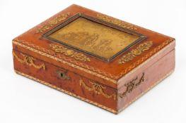 A cigar box