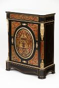 A Boulle style Napoleon III low cupboard