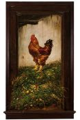 Moura Girão (1840-1916)RoosterOil on canvas Signed and dated 1888This painting is reproduced