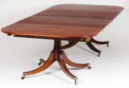 A George III dining table