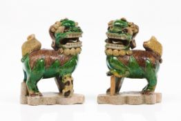 A pair of Buddhist lions