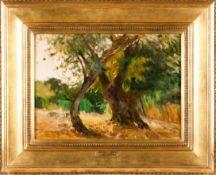 """Ezequiel Pereira (1868-1943)""""Vila de Frades- Alentejo""""Oil on canvas Signed34x46 cm"""