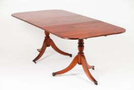 """An """"English"""" style dining table"""