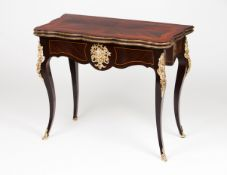 A Napoleon III style games table