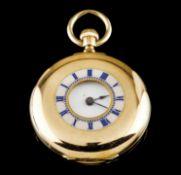 A lapel watch