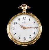 An Athena lapel watch