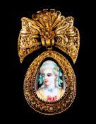 A brooch