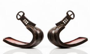 A pair of Namban stirrups