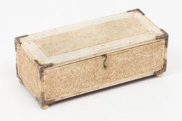 A Sinhalese-Portuguese casket