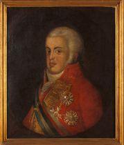 Portuguese school, 19th century (1st quarter)A portrait of King João VI (1767-1826) after Domenico