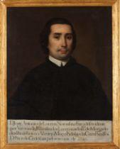 Portuguese school, 18th centuryPortrait of D. Jozé António de Lucena Noronha e Faro Oil on canvas