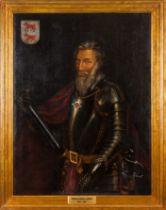 Portuguese school, 19th / 20th centuryPortrait of Pedro Álvares Cabral (1467- ca. 1520) Oil on